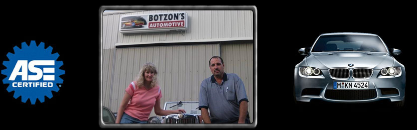 ASE certified, Botzon's Automotive